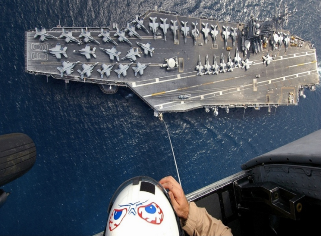 carrier from above