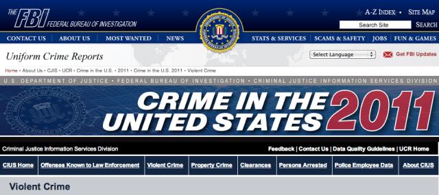 FBI UCR