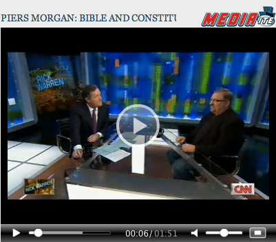 Piers Morgan Bible Flawed
