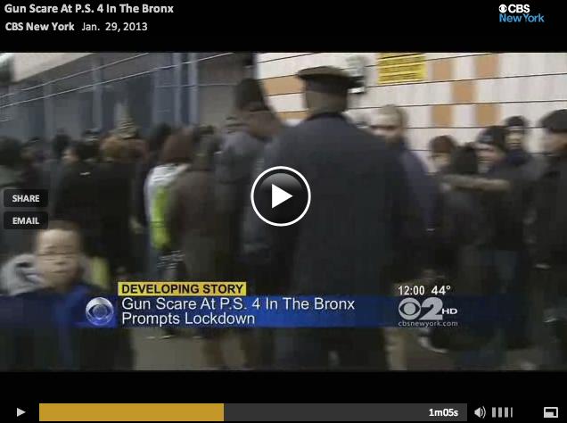 Bronx Nerf Scare