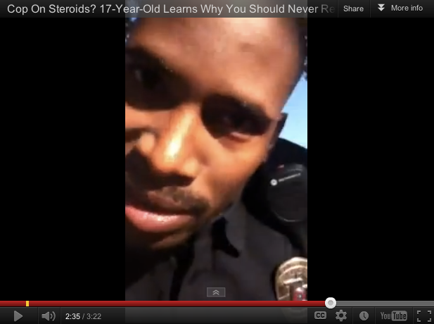 Fired Cop Texas