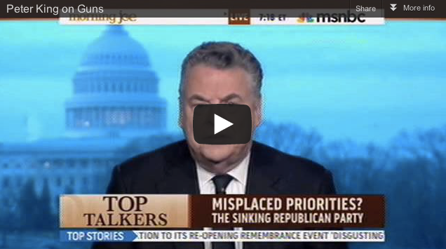Peter King Idiot