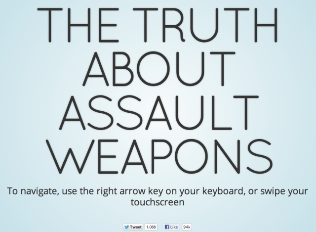 The Truth About assault Weapons