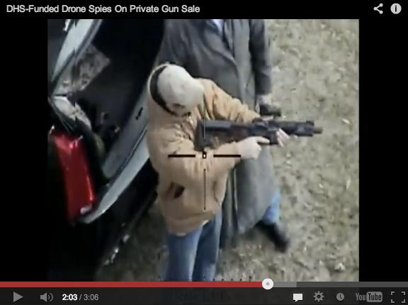 Gun Control Drones