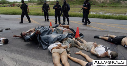 Hundreds Of Dead Mexicans