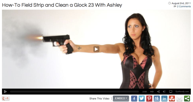 EyeHandy Glock