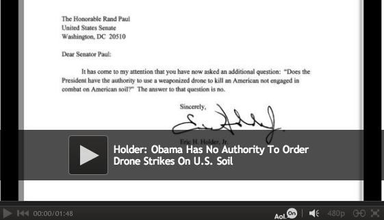 Holder Drone Letter