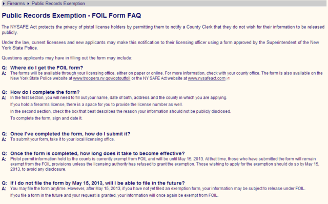 NYS_FOIL_Exemption_Instructions
