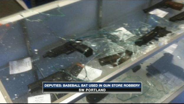 bat gunstore robbery
