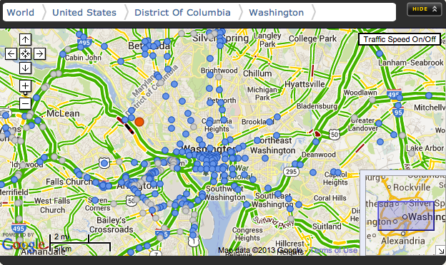 Washington Dc Traffic Cameras See The Ride Live Youviewed