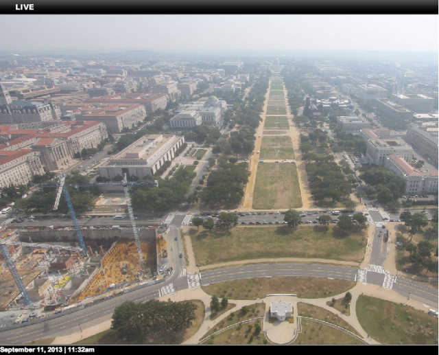 Mall View From Washington Monument