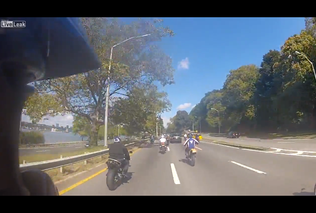 NYC Motorcyclists