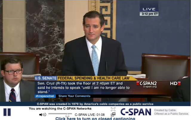 Ted Cruz Filibuster