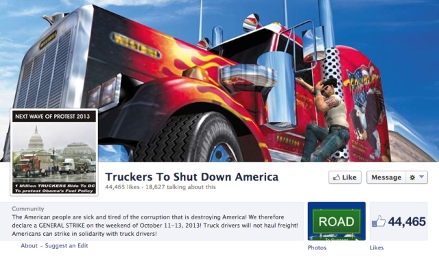 Truckers Shut Down