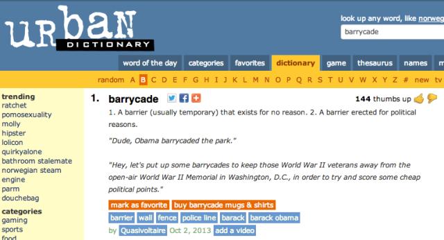 Barrycades