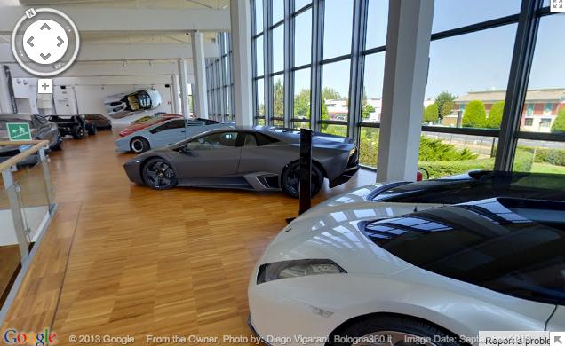 Google Lamborghini