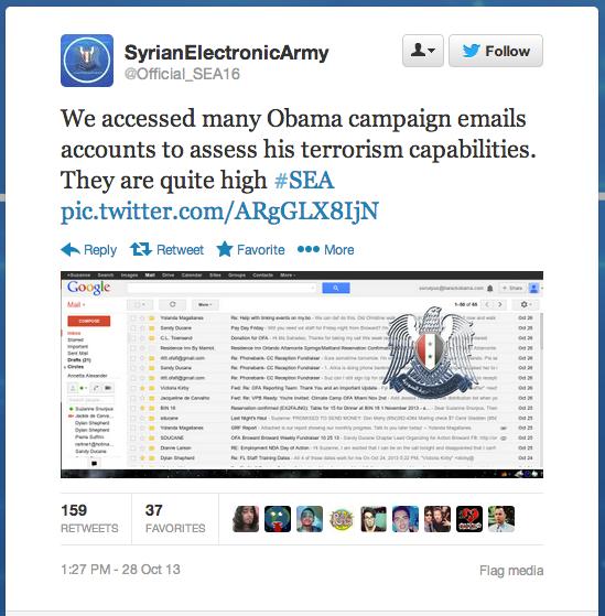 SEA Hacks Obama
