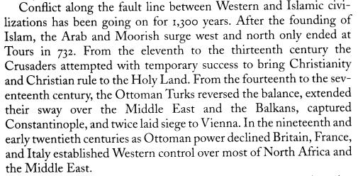 Conflict Islam & West
