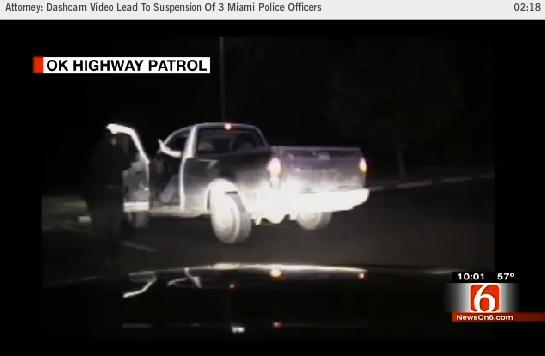 Cop Kicks Driver