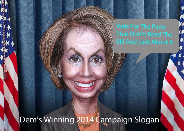 Dem's 2014 Campaign Slogan