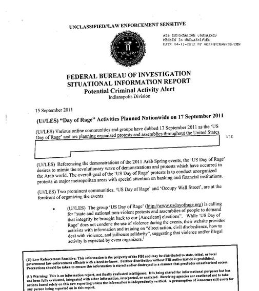 FBI Occupy