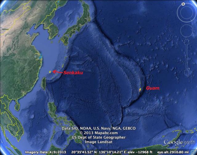 Guam-Senkaku