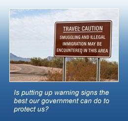 Smuggler Warning