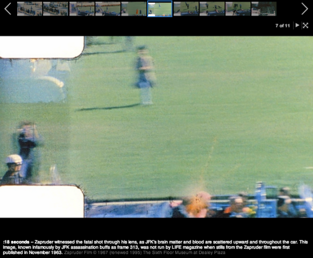 Frame By Frame Zapruder Film Of JFK\'s Final Moments | YouViewed ...