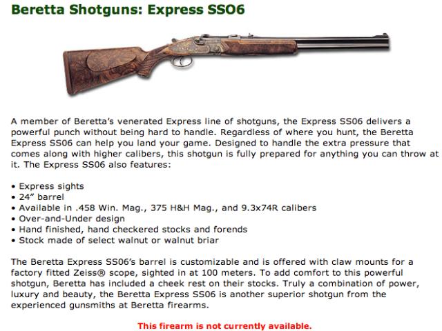 Beretta SS06