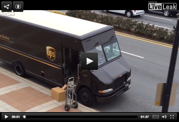 UPS Breakage