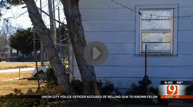 Cop Steals Gun