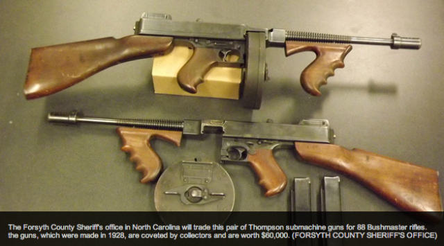 Historic Thompson SMGs