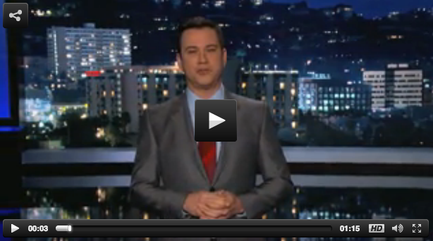 Jimmy Kimmel Obamacare Parody