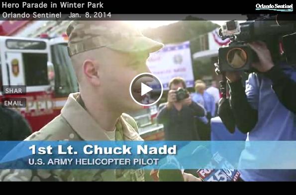 Lt Chuck Nadd Welcome Home