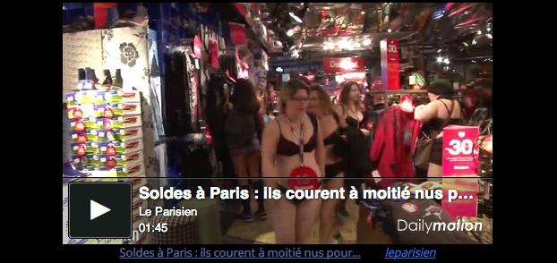 Paris Underwear Shopping