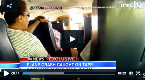 Plane Crash Passenger Video