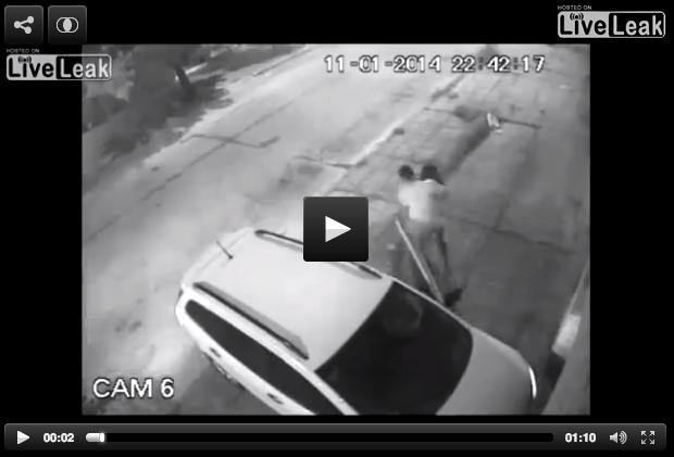 Woman Pepper Sprays Car Thieves