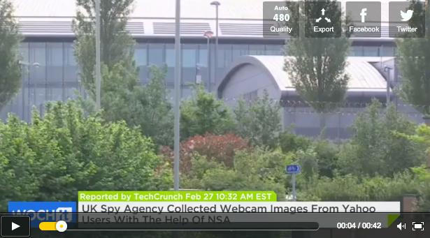 GCHQ Yahoo Webcam Spying