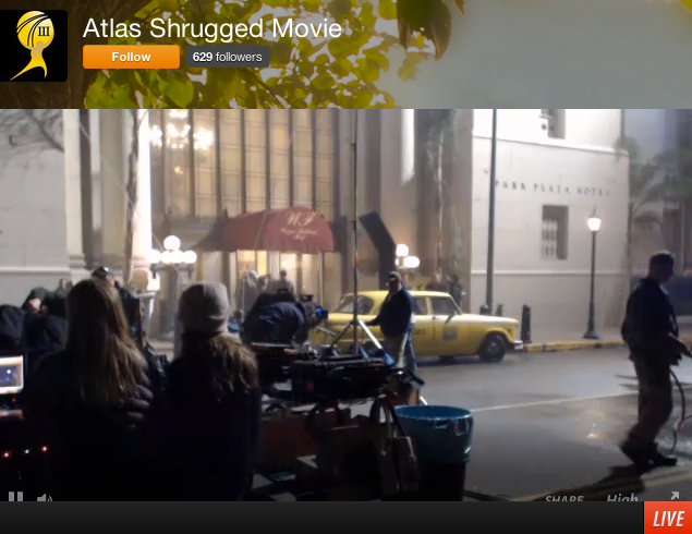 Livestreaming Atlas Shrugged 2.7.14