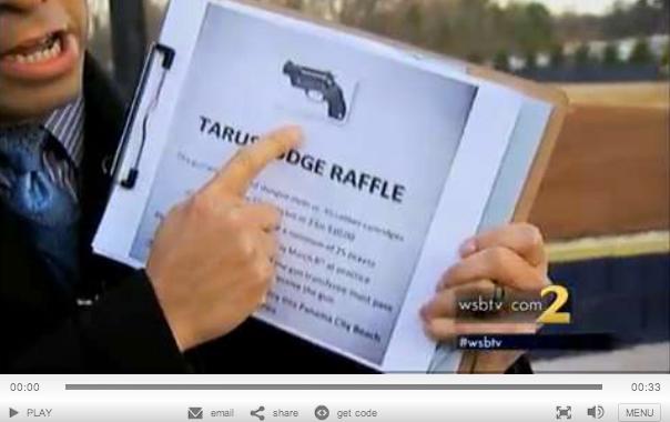 Softball Tean Gun Raffle