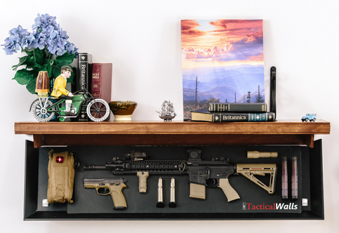 Tactical Shelf Opened