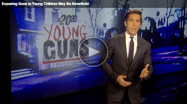 TEACHING KIDS ABOUT GUNS