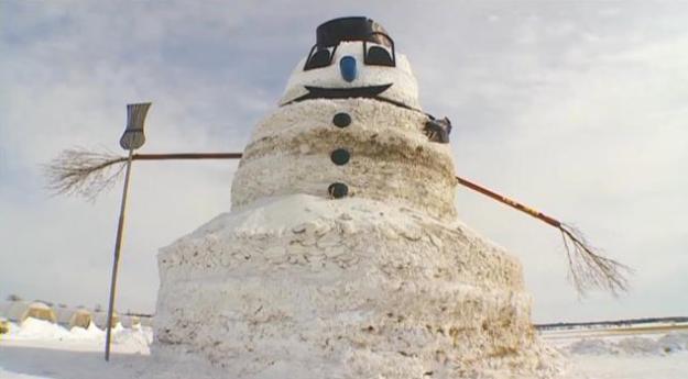 50 ft Snowman