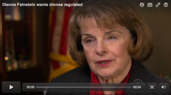 Feinstein Spied On By Drone