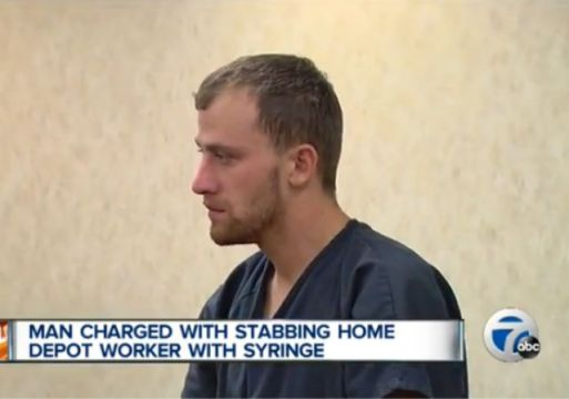 home-depot-roseville-michigan-syringe-stabbing
