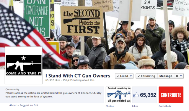 I Stand With CT Gun Owners
