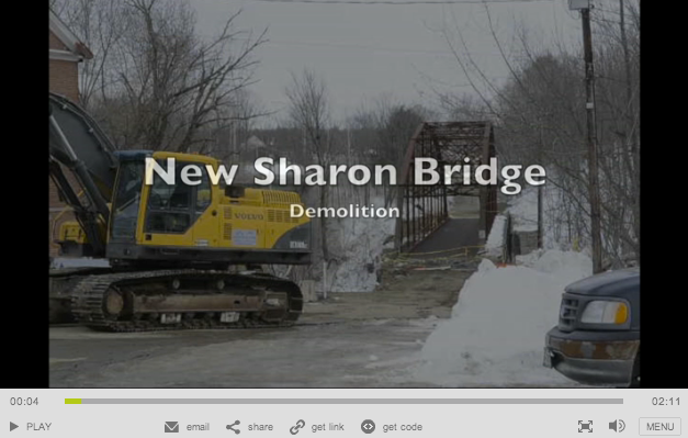 New Sharon Bridge Demolition