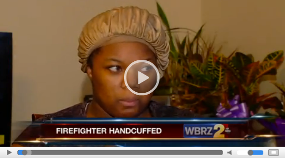 NO Firefighter Handcuffed During 911 Call