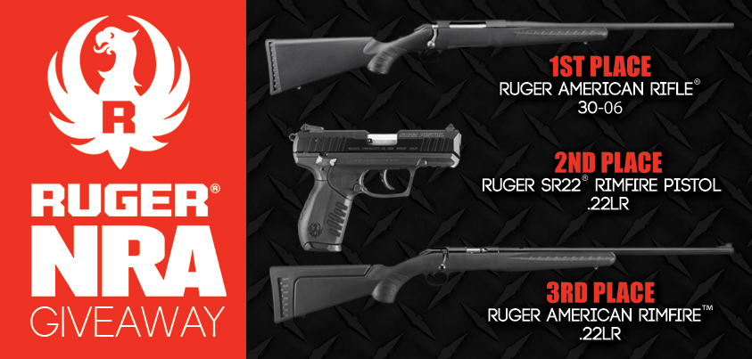 nra banned guns giveaway enter nra s 3 gun ruger giveaway youviewed editorial 9463