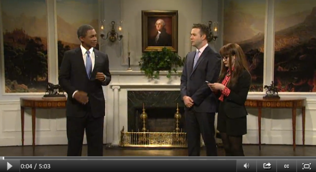 SNL Cold Open 3.29 Obamacare